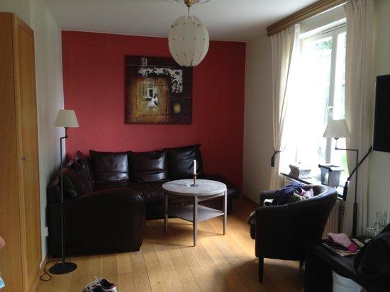 Yxtaholm Slott: Living room