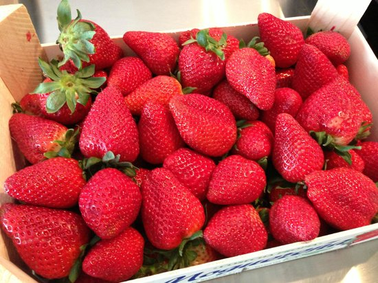 Helados San Nicolas: Strawberries from Andalusia Region, for Ice Slush and Sorbet