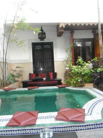 Dar el Souk: Plunge pool