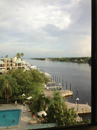 Westin Tampa Harbour Island: Westin Harbour Island, Tampa, FL View From Workout Room