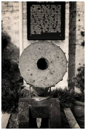 Museo Sugbo: cannon at the gate