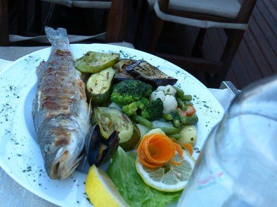 Boutique Hotel Adriatic: dinner at restaurant of hotel