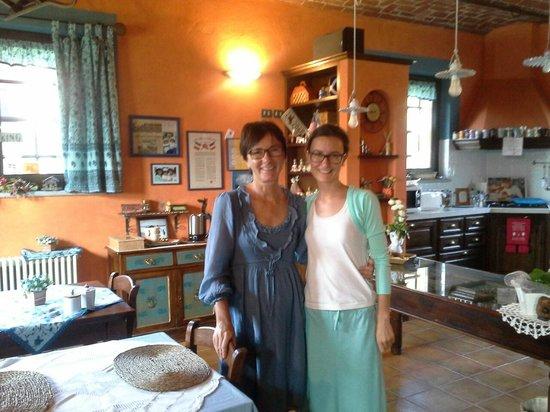 B&B La Taupiniere: Onze gastvrouwen