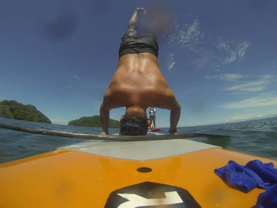 Costa Rica SUP'ers: my first hand stand with CR SUper´s