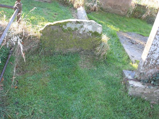 Templecorran Graveyard: Some very old burials.