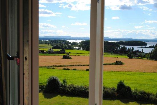 Kungshaga Hotell: Utsikten från rummet