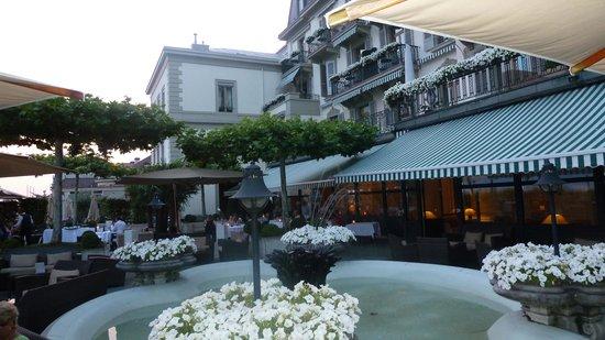 Terrace @ Hotel des Trois Couronnes