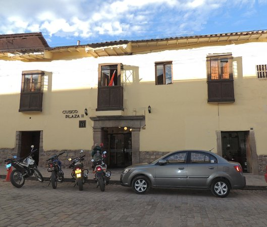 Cusco Plaza Nazarenas: Cusco Plaza Front/ Frontis del Cusco Plaza II