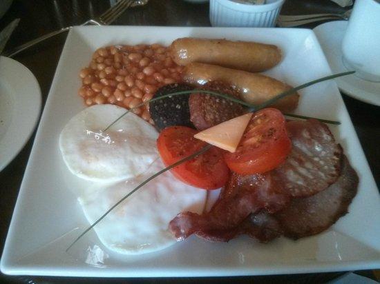 The Waterside Bed & Breakfast: Fabulous full Irish breakfast!