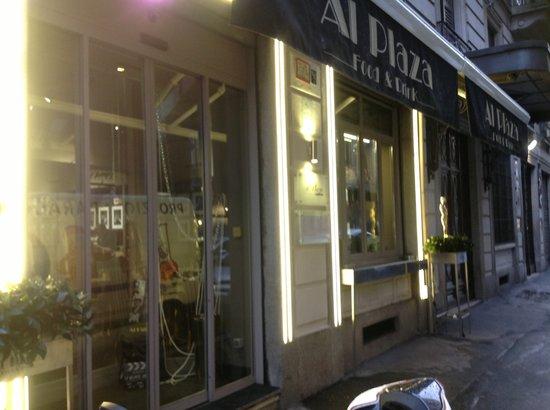 Al Plaza : Entrata