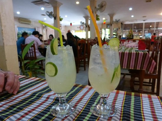 Borey Sovann Restaurant: Lime juice $1.50 each - best I've ever had!