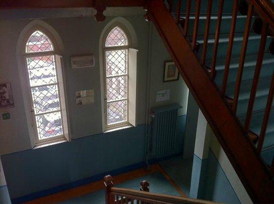 Poortackere Monasterium Hotel: L'escalier principal