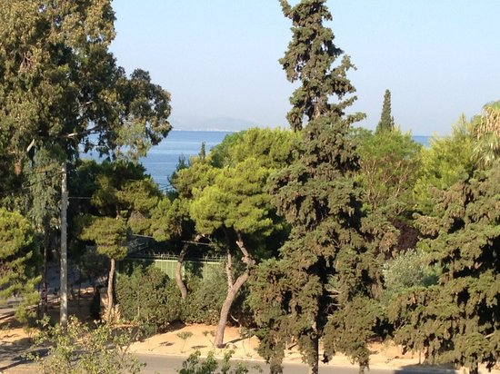 Glyfada Hotel: From terrace of Room 205