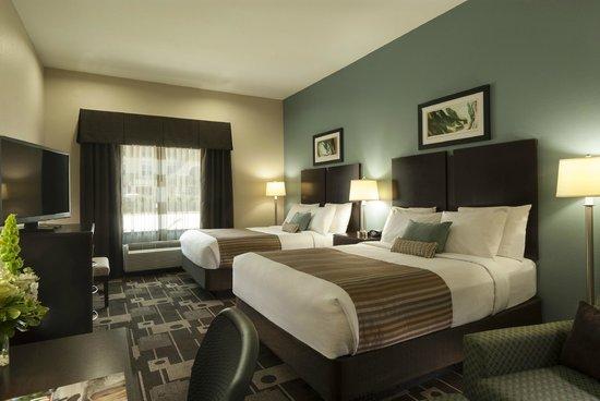 Best Western Plus JFK Inn & Suites: Double Queen Guest Room