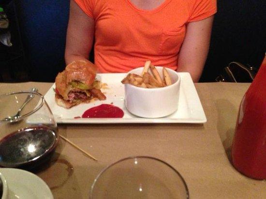 Vidalia: Burger and Fries