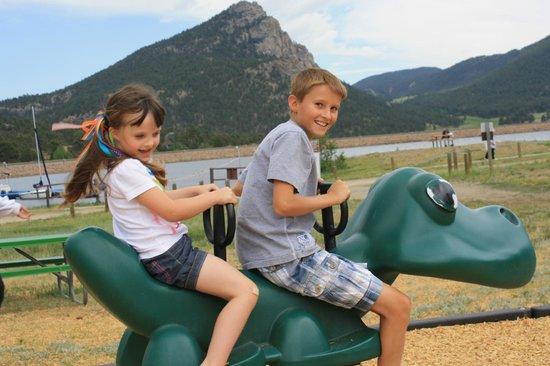 The Estes Park Resort : The play area was decent