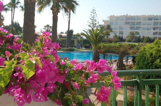 Hasdrubal Thalassa Hotel & Spa Port El Kantaoui: Vue de la terrasse