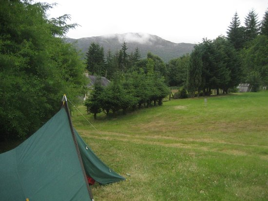 Inver Coille : View from our pitch