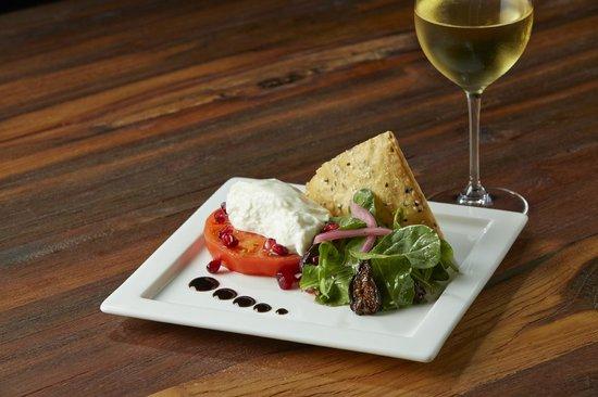 Jake's Del Mar: Buratta & Heirloom Tomato Salad