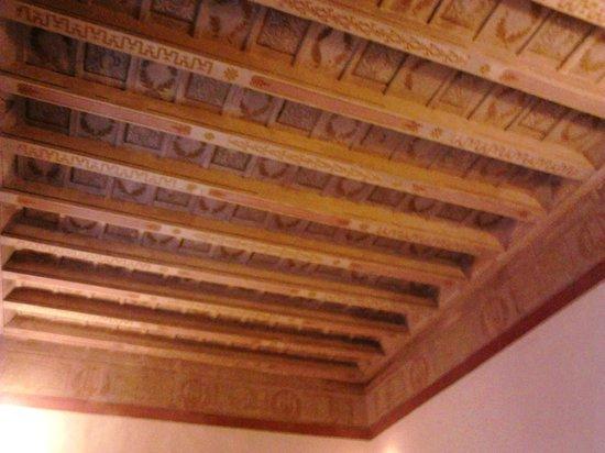 Hotel Bavaria: il soffitto