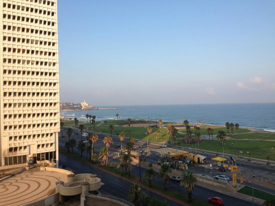 Dan Panorama Tel Aviv: View from room 810 towards old Jaffa