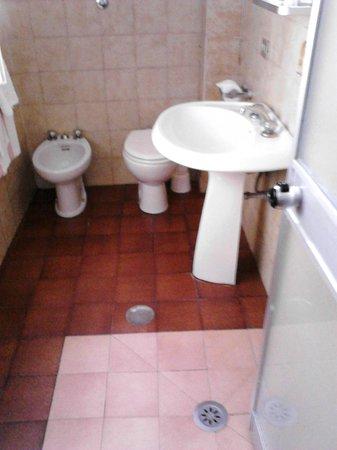 Hotel Bavaria: il bagno