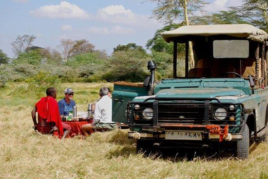 Campi ya Kanzi: Safari Dining