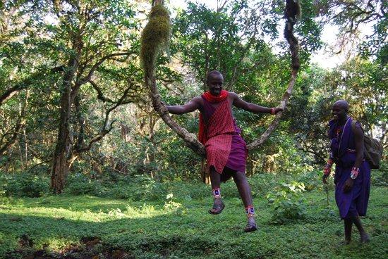 Campi ya Kanzi: Maasai Warrior