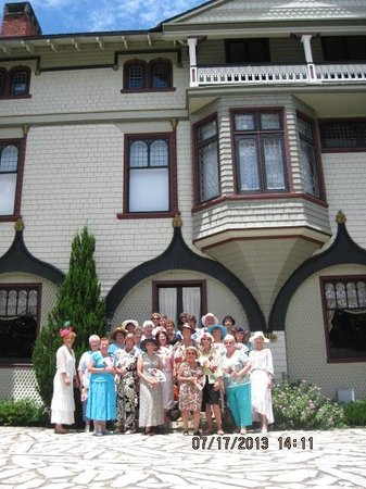 Ladies from The Villages visiting the Stetson Mansion