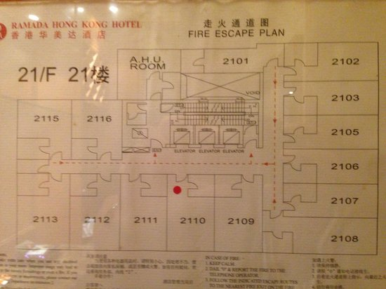BEST WESTERN PLUS Hotel Hong Kong: Floor layout - request the right size room!