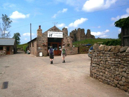 Brough Castle Ice Cream Parlour & Tearoom July 2013