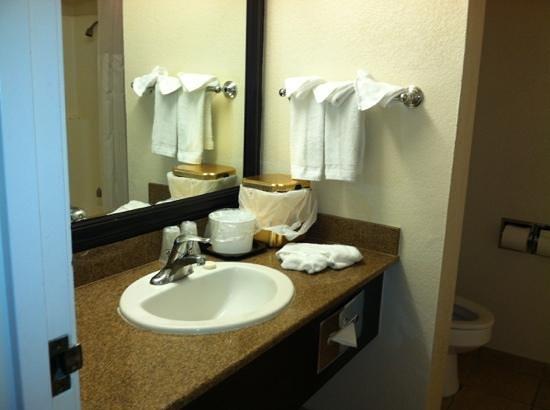 Primm Valley Resort & Casino: clean sink July 2013