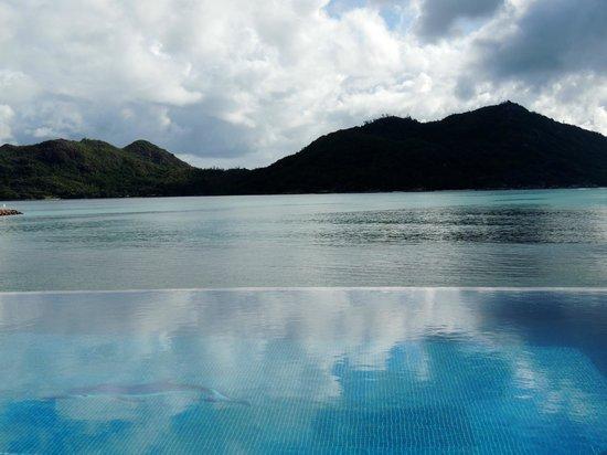 Chalets Cote Mer: piscina