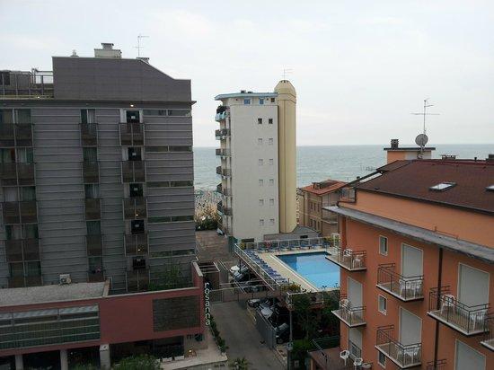Hotel Brioni Mare: vista dal balcone