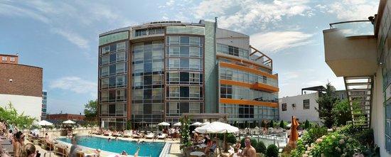 McCarren Hotel & Pool : Pool area