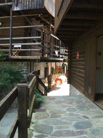 Albergo Diffuso Sauris - Borgo di San Lorenzo : Particolare abitazioni