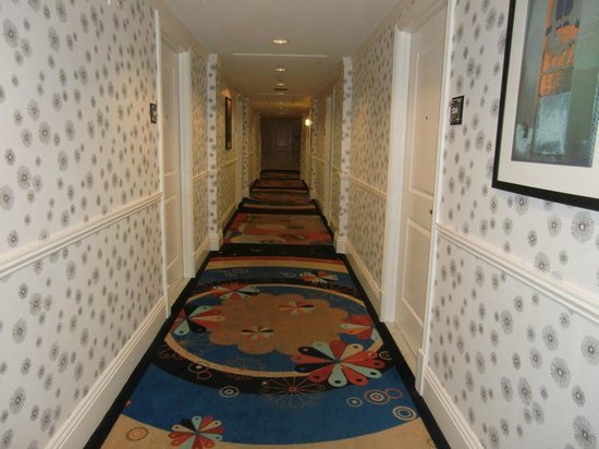 Hotel Shattuck Plaza : Hallway