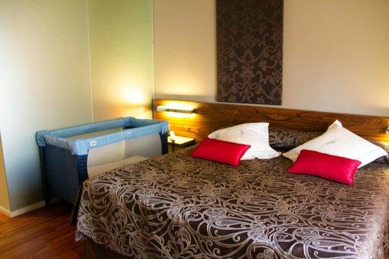 Hotel AF Pesquera: Cama