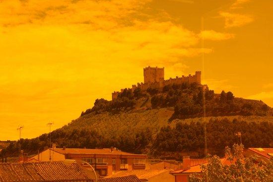 Hotel AF Pesquera: Vista do Castelo