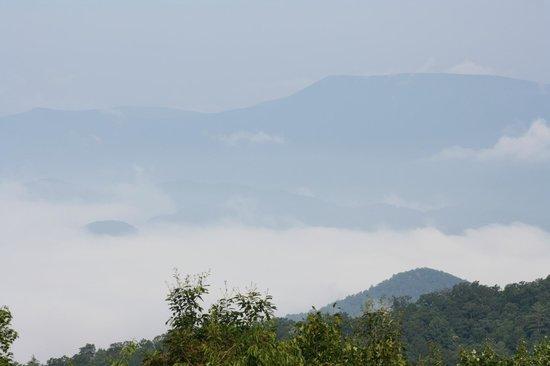 Fire Mountain Inn: View from Balcony