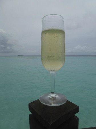 Coco Palm Dhuni Kolhu: Champagne on the lagoon villa!