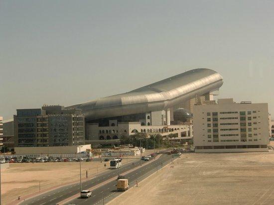 Centro Barsha: vistas desde habitación
