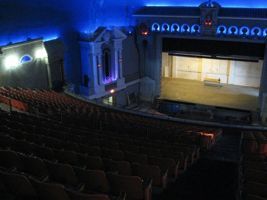 Capitol Theatre: View from the back of the balcony