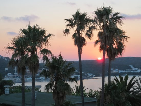 Hotel Port Mahon: Early morning view from our room
