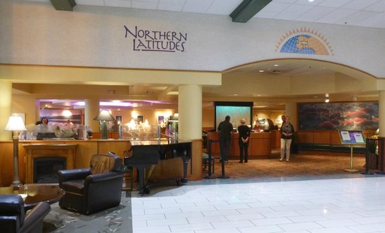 Westmark Fairbanks Hotel and Conference Center: Latitudes restaurant