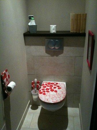 Hotel Restaurant La Terrasse : Les toilettes