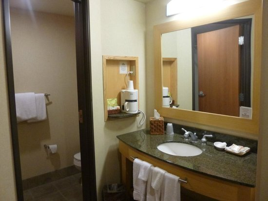 Westmark Fairbanks Hotel and Conference Center: washbasin