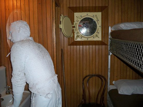 Lake Superior Maritime Visitor Center: Passenger room