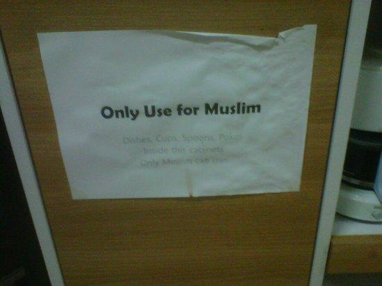 Namdaemun Guesthouse Seoul: Muslim Cooking Utensils