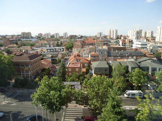 Hotel Zenit Conde de Orgaz: Vistas desde la habitación